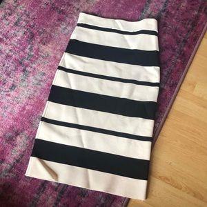 BCBG max azria bodycon skirt